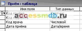 Скачать базу данных (БД) «Платный прием в поликлинике» MS Access